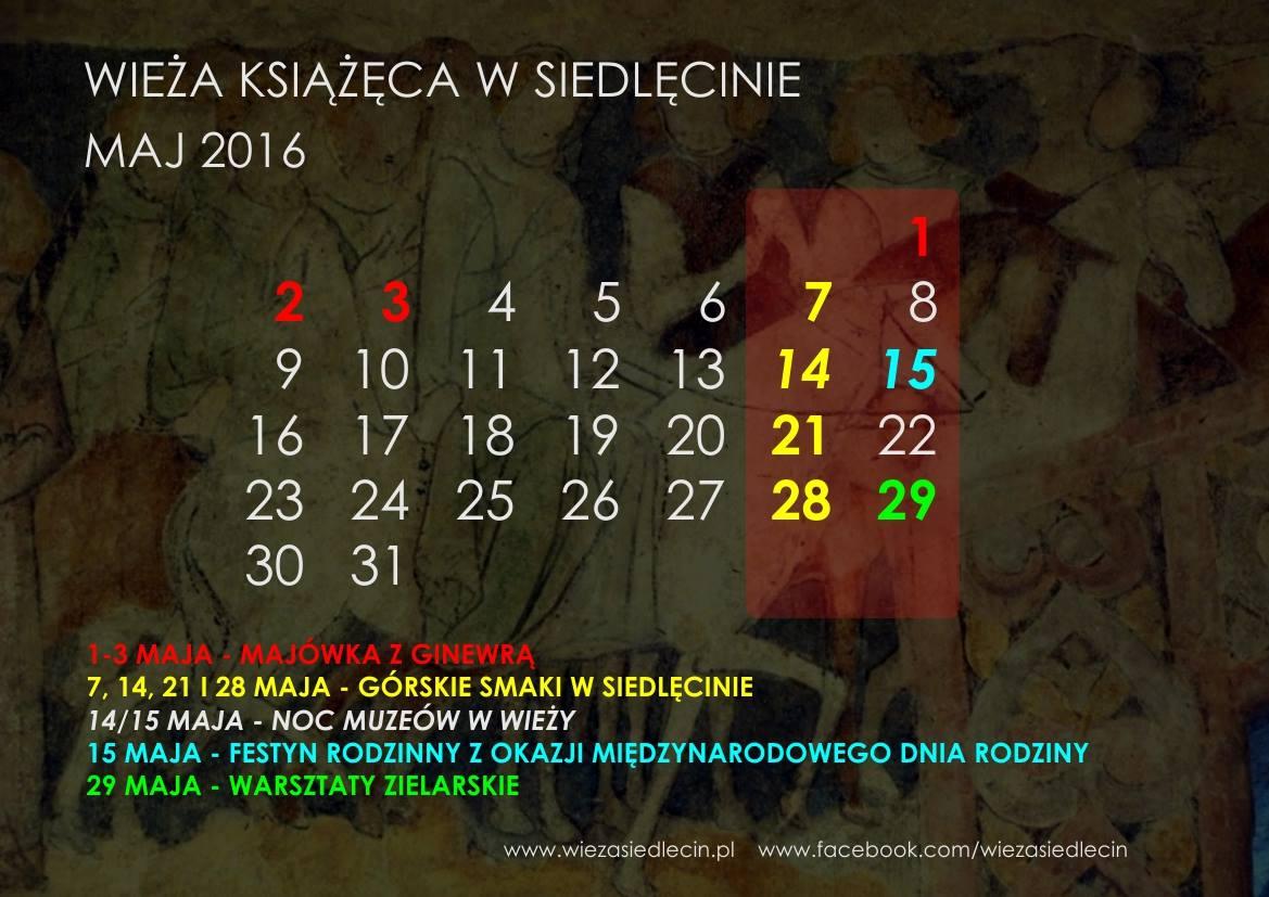 kalendarium maj 2016
