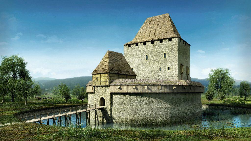 Znalezione obrazy dla zapytania wieża rycerska siedlęcin